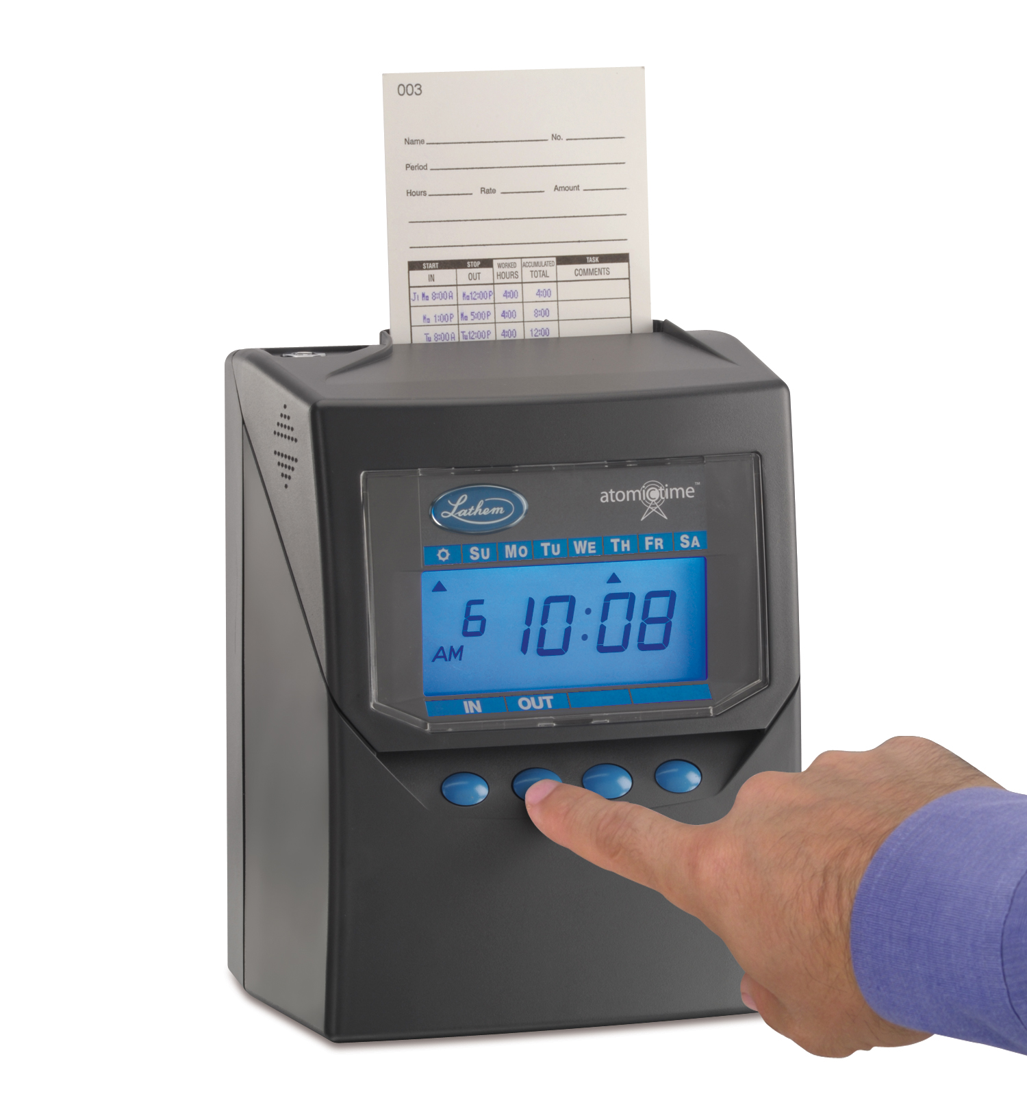 time clocks for any size business time clock 7500ealton business